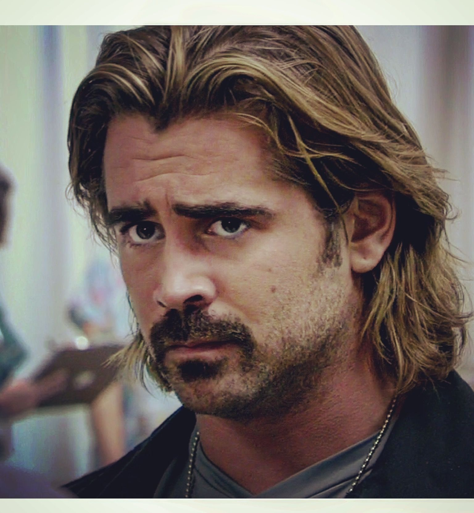sonny crockett and colin farrell from miami vice | c.f in