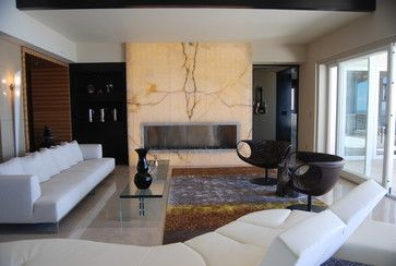 Living Room Designer Entrancing Stone Slabs For Fireplaces  Contemporary Living Room Design Design Decoration