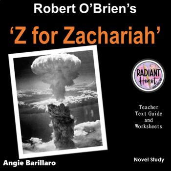 Z For Zachariah Robert O Brien Teacher Text Guide Worksheet Novel Study Updated April 2019ideal The High Sch Studie School Essay