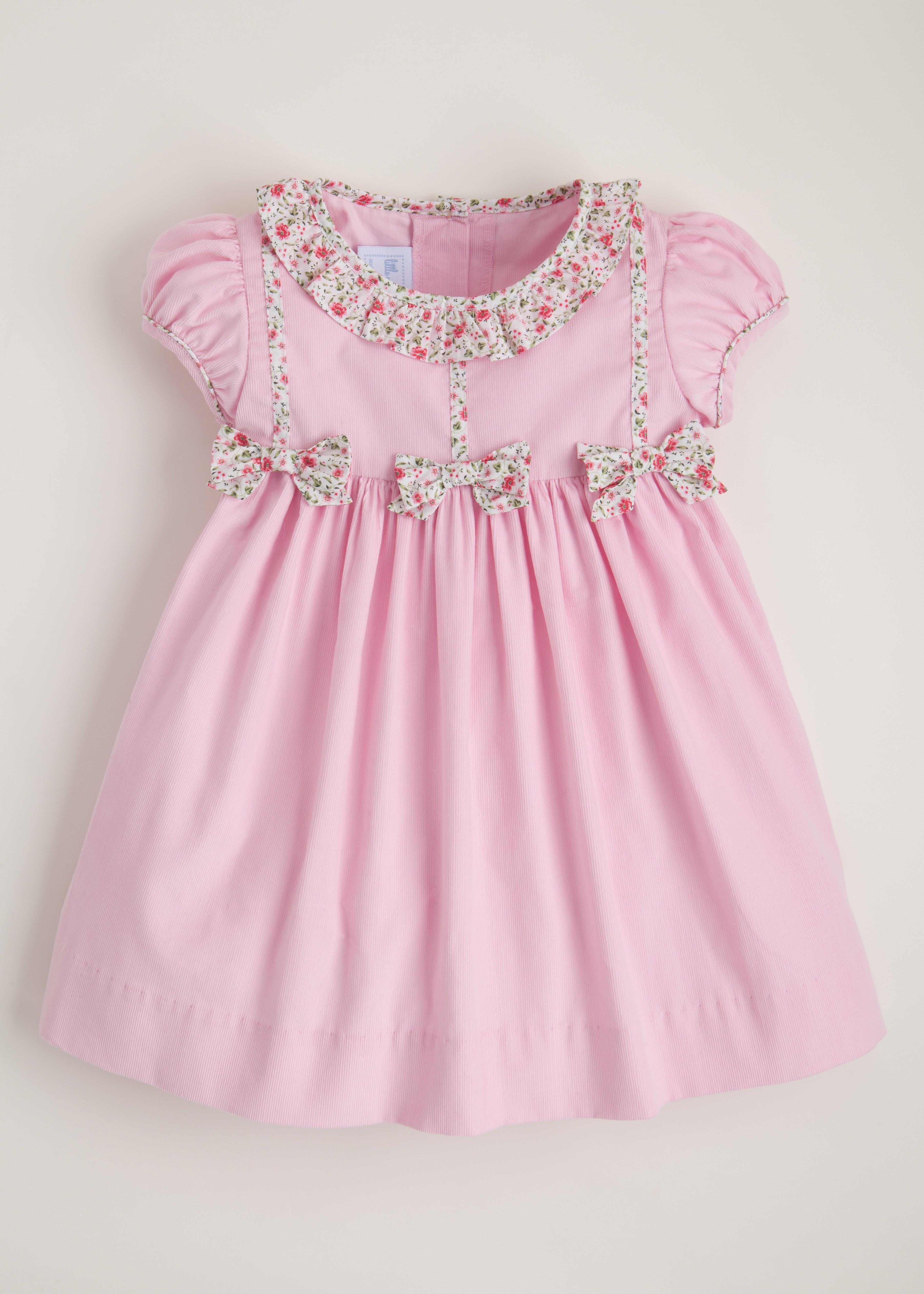 Baby White-12 Months Petit Bateau Pique Dress with Pockets
