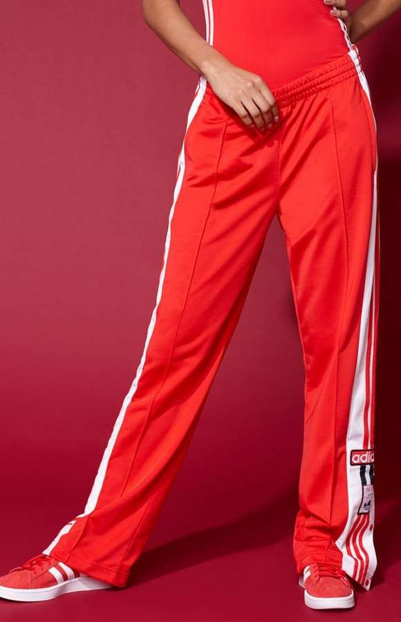 9894f756e adidas Adicolor Red Tearaway Track Pants | Products | Pants, Fashion ...