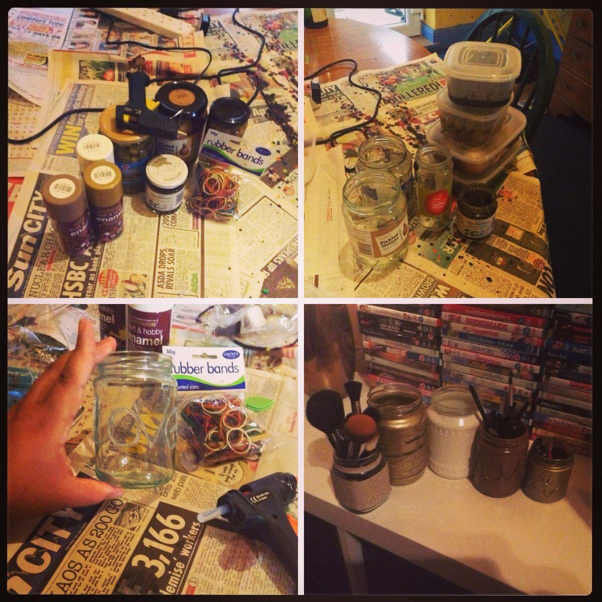 Storage jars for my room