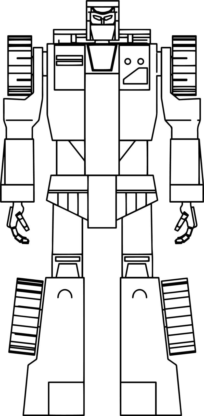 Scrapper Transformers Coloring Page