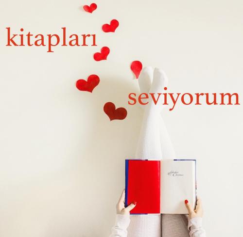 I love books Turkish word:  kitap - book (pl. kitabılar) seviyorum - to feel affection for something or someone  kitapları seviyorum.