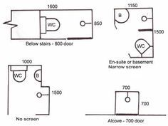 Dimensions Of Small Toilet Wetroom Google Search