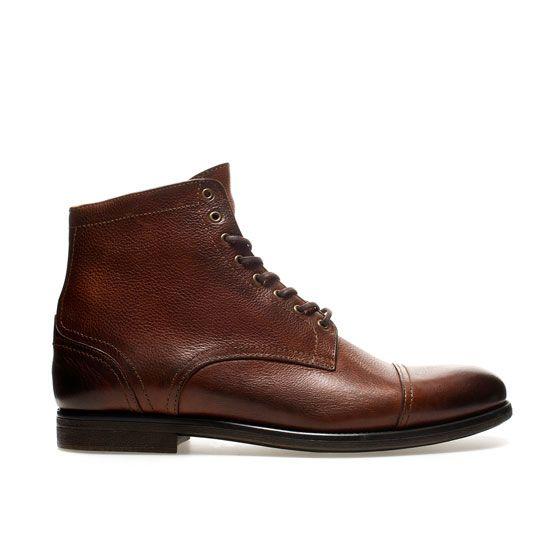stiefel mit schn rsenkeln schuhe herren zara schweiz shoes sneakers pinterest. Black Bedroom Furniture Sets. Home Design Ideas