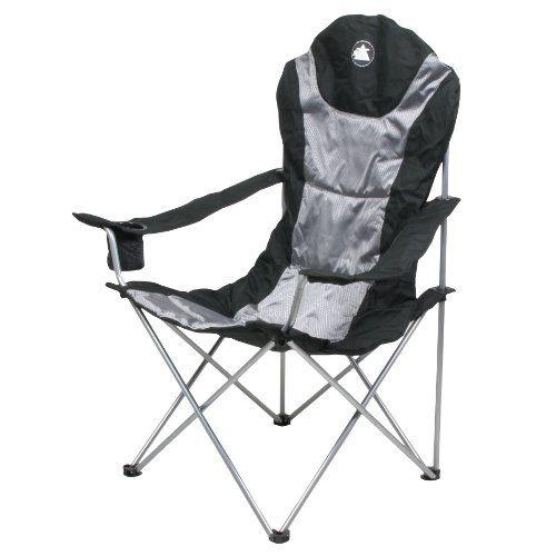 10t Lightboy Faltbarer Xxl Camping Stuhl Mobiler Hochlehner Maxi Polster Sitzflache Getrankehalter Amazon De Sport Freizei Klappstuhl Campingstuhl Stuhle