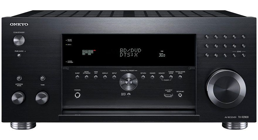 The Onkyo TX-RZ800 is a 7 2-ch AV receiver that is THX® Select2