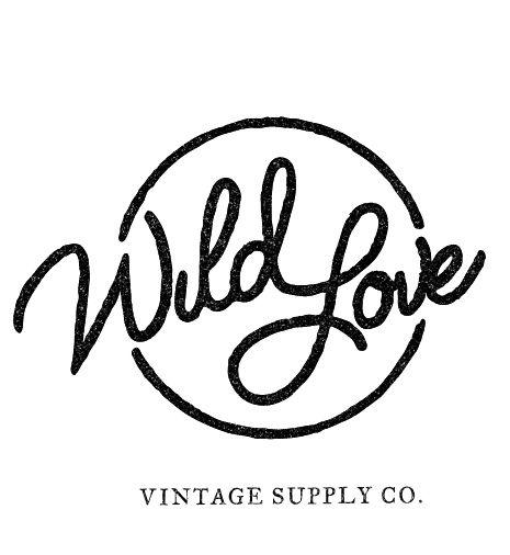 Doug Penick Wild Love Vintage Logo Design Inspiration Graphics Vintage Logo Design Logo Design Inspiration