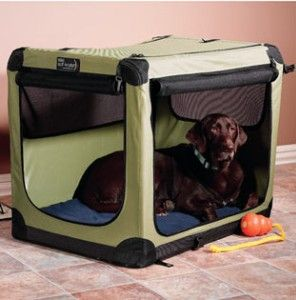 Comfy Device Dog Houses And Stuff Soft Sided Dog Crate Dog