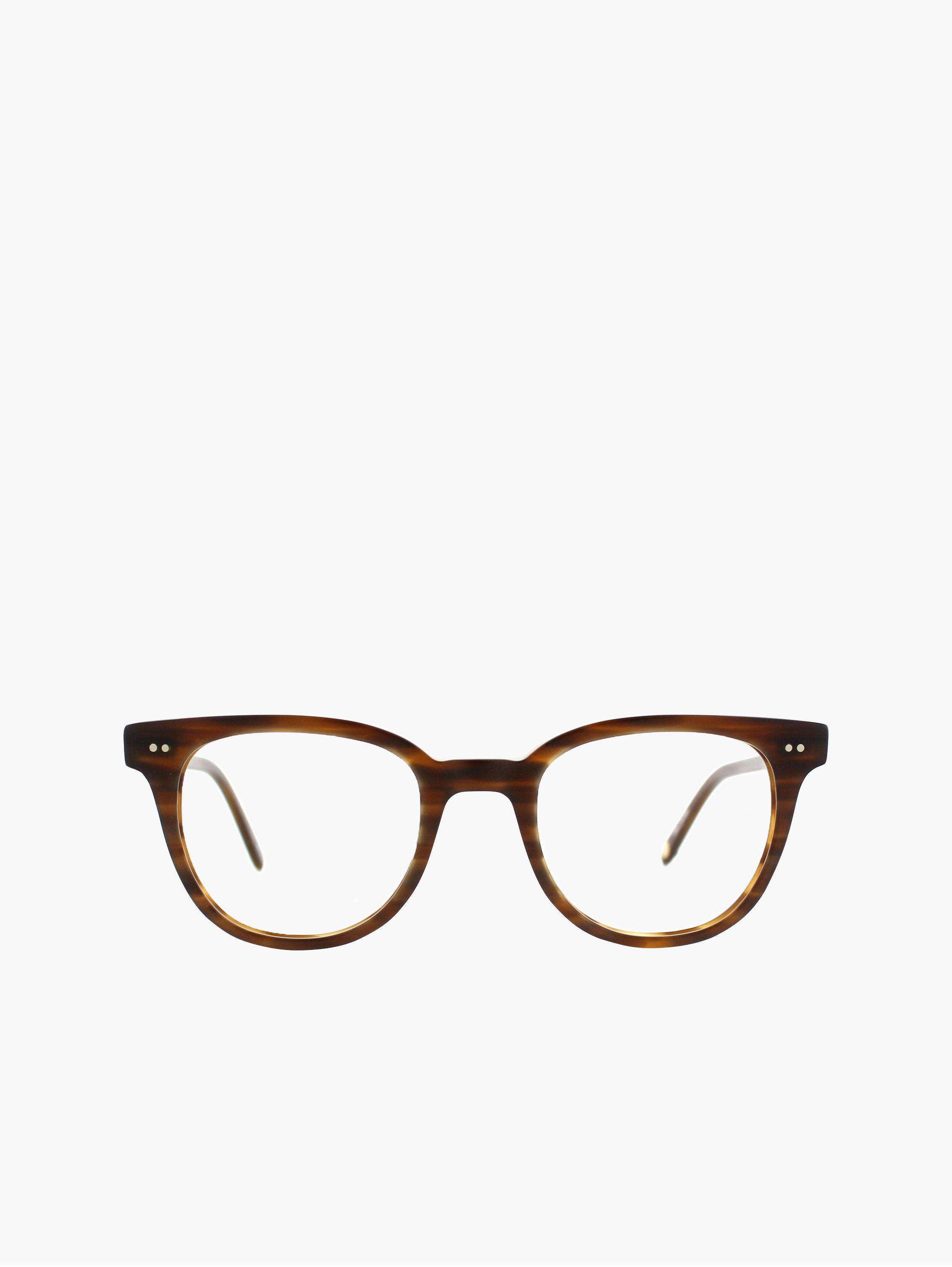 The Angelus rectangular eyeglass frames are a character driven frame ...