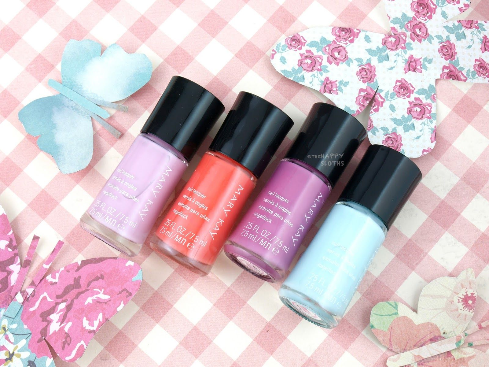 Mary Kay Spring 2017 Light, Reinvented Collection Nail Lacquer ...