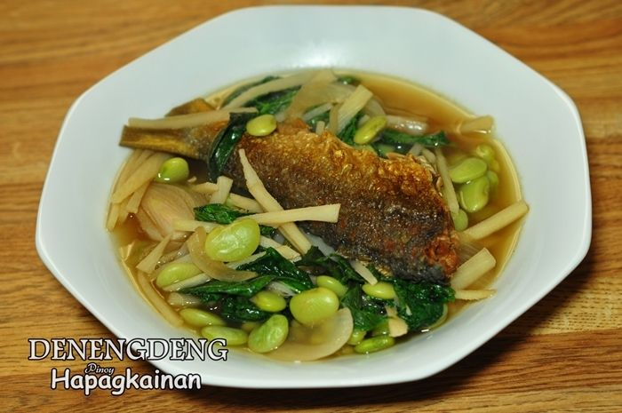 Denengdeng the simplest ilocano dish with vegetables and for Filipino fish recipes