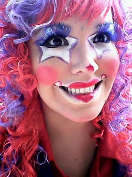 maquillaje de payasita sencillo , Buscar con Google