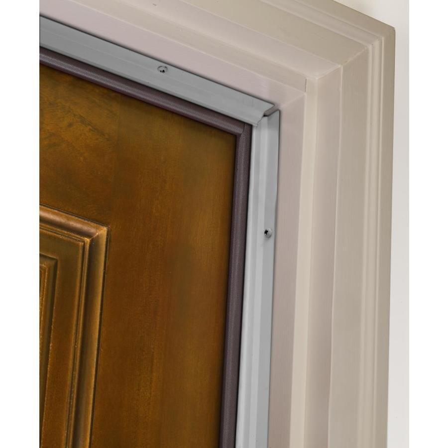 MD 3/16in x 7ft Silver Aluminum/Vinyl Door Weatherstrip