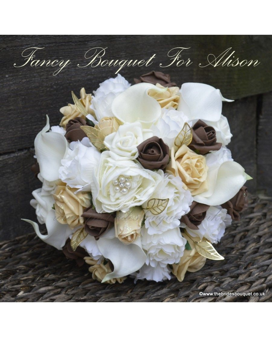 Fancy Package Mixed Flower Brides Bouquet 1 Rose Bridesmaid Posy 2 Flowergirls Groom Bestm Wedding Flower Packages Flower Packaging Silk Flowers Wedding