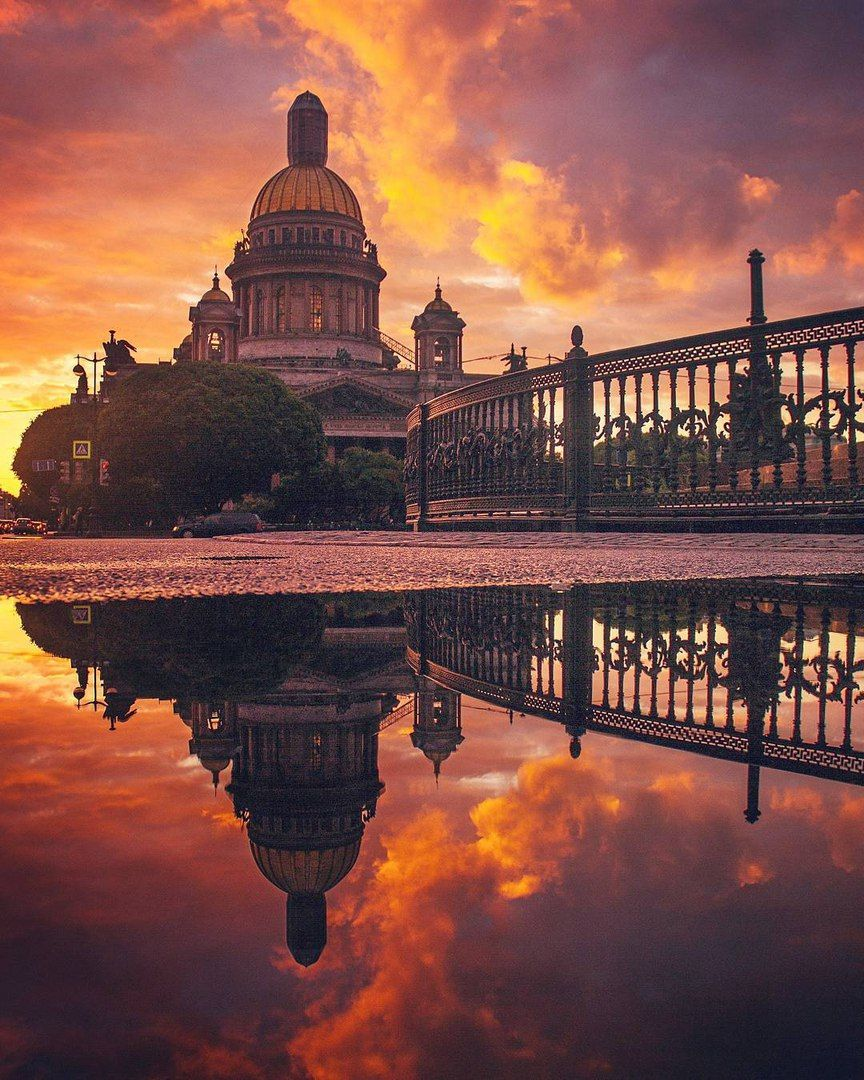 Санкт-Петербург | Закаты, Соборы и Санкт петербург
