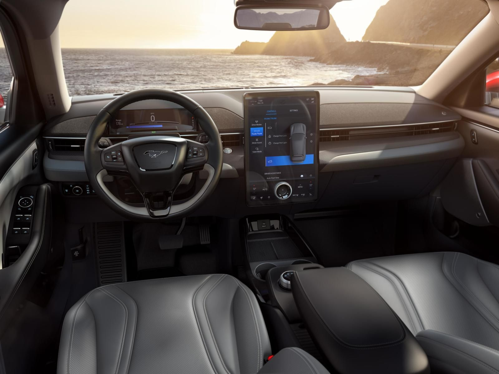 The 2021 Ford Mustang Mach E Debuts A New Infotainment System With