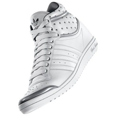 promo code b49d3 698a9 Tênis Adidas Women s Top Ten Hi Sleek Up Shoes Running White D65224  Tenis   Adidas