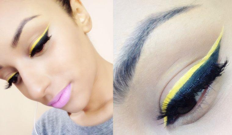 Photo of Nieuw oogmake-up: eyeliner in felle kleuren! – Nieuwe Decoratie