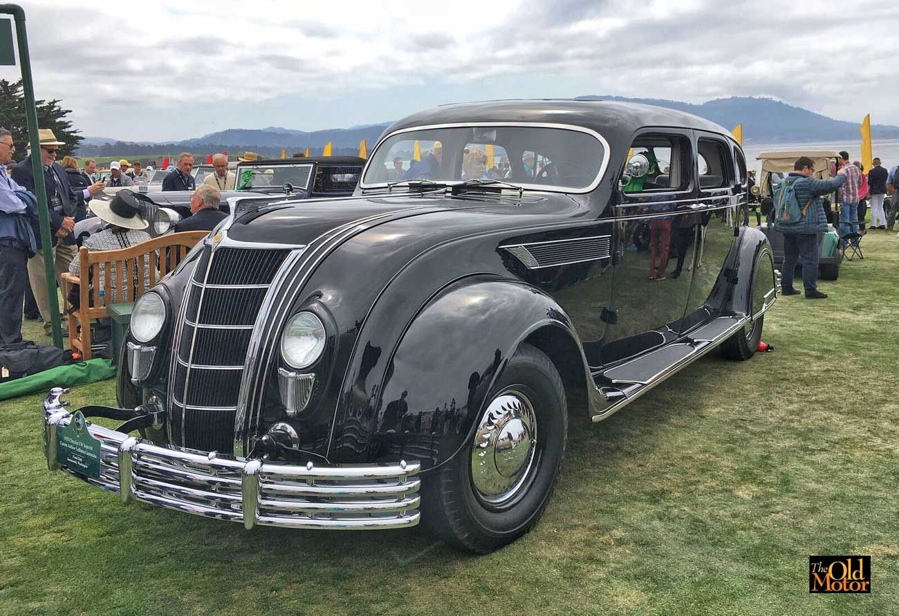 1935 Chrysler Cw Imperial Custom Airflow Lebaron Limousine With