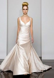 Satin Wedding Gowns