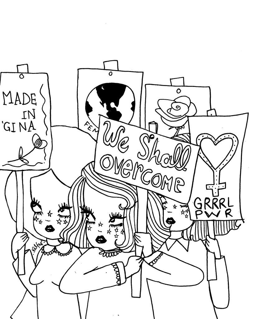 Valfrecolorme Women S Month Themed Coloring Pages Coloring