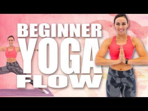 20 minute beginner yoga flow with sydney cummings