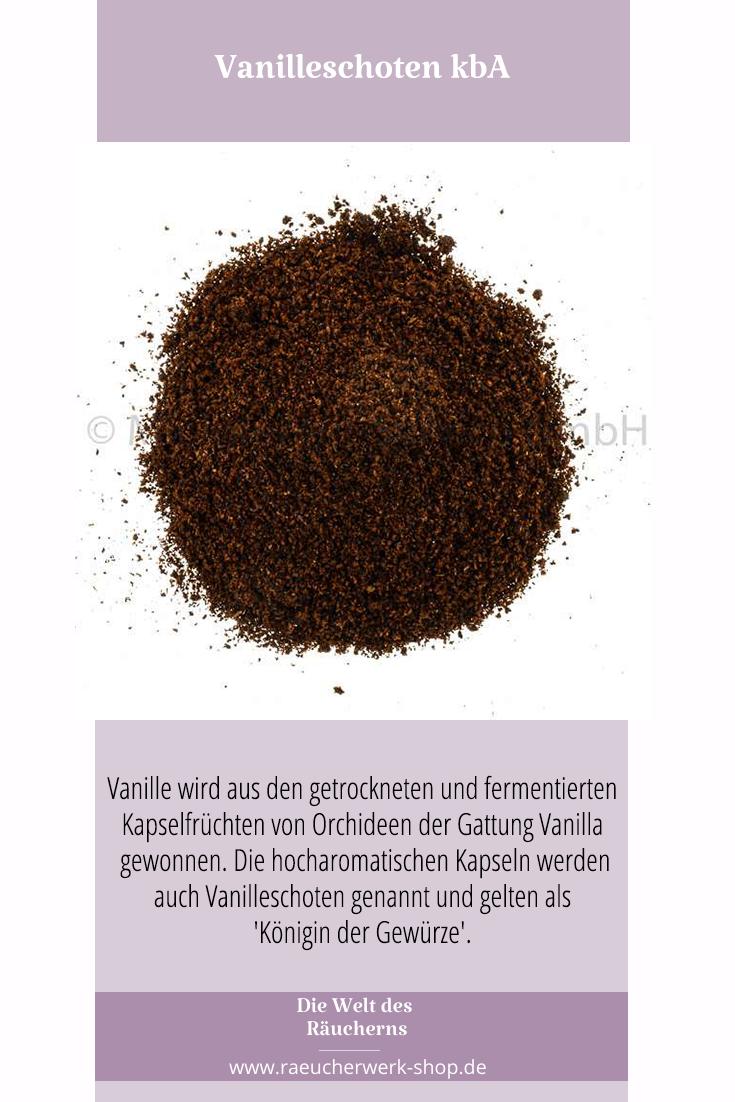 Vanilleschoten Kba Vanille Fermentieren Fruchte