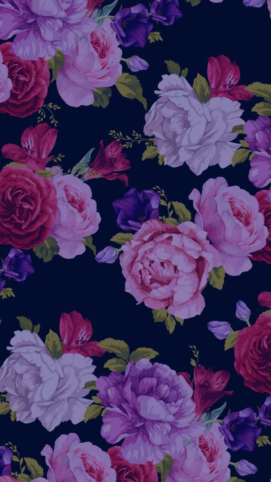 Pin By Ela97 On Dlya Mamy Flower Iphone Wallpaper Flowery Wallpaper Flower Wallpaper