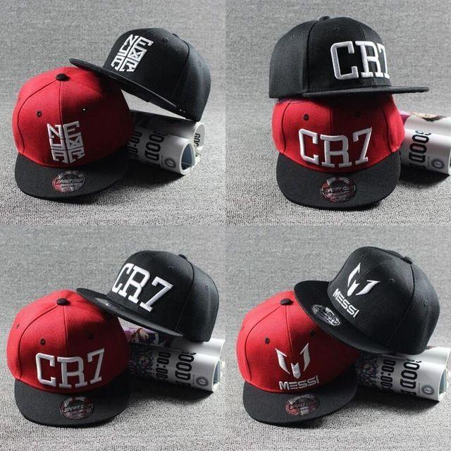 6ccfa74494873 Ronaldo Cr7 Messi Neymar Jr Njr Baseball Cap Hat Boys Girls Kids Children   ebay
