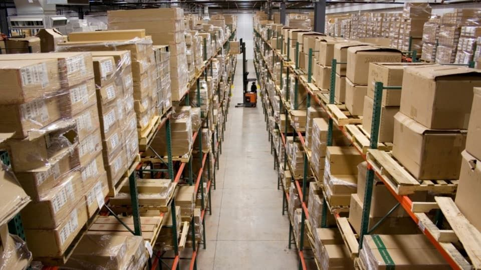 Designing A Warehouse Builders Merchants Warehouse Pallet
