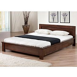 overstockcom alsa platform full size bed add a modern touch to - Full Sized Bed Frames