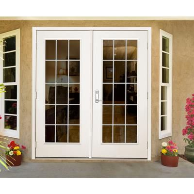 Outswing french patio doors off the master? - JELD-WEN Windows & Doors - Garden Door, Outswing, 6 Inch 15 Lite
