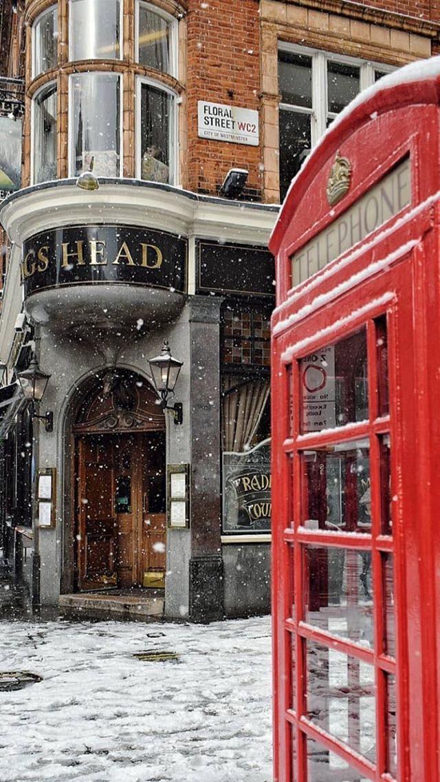 Фото снег в лондоне
