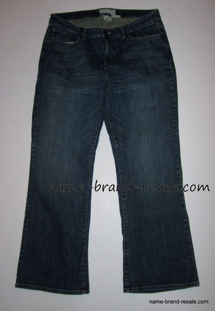70132ebe908 MAURICES Denim Jeans ORCHID BOOT Womens 18 REG Distressed Stretch Bootcut  2X  Maurices  BootCut