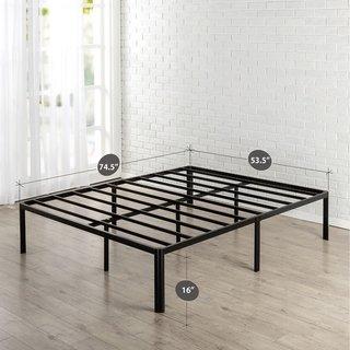 Priage By Zinus 16 Inch Metal Platform Bed Twin Black Metal
