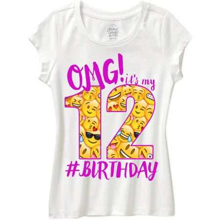 Omg Its My Birthday Shirt Emoji By WishesandkissesCo