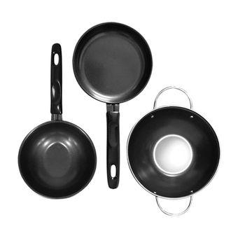 Belanja Ah Cookware Set Alat Masak 3 Buah Indonesia Murah Perangkat