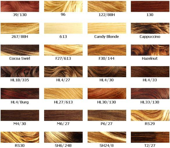 Already looking for a new hair color. So many colors, so few that ...