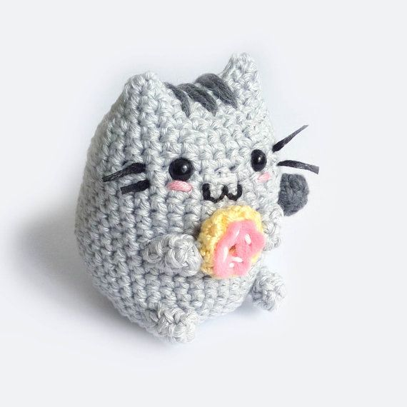Pusheen the Cat Amigurumi | Meow! | Pinterest | Ganchillo, Croché y ...
