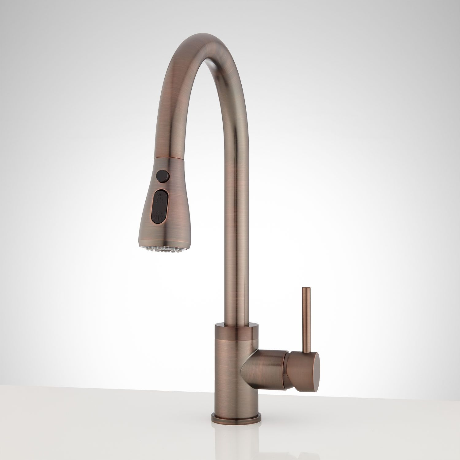 Thurlow Singlehole Pulldown Kitchen Faucet  Kitchen Faucets New Oil Rubbed Bronze Kitchen Hardware Decorating Design