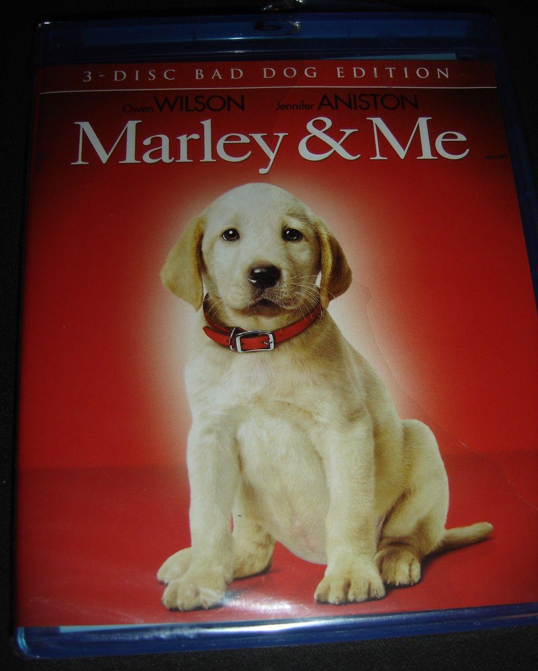 Marley Me 3 Disc Bad Dog Edition New Blu Ray Movie Dogs Blu