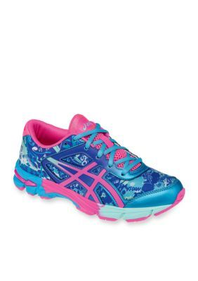 Asics Boys' Gel Noosa Tri 11 Gs - Boy Youth Sizes - Turquoise / Pink - 5.5M Toddler