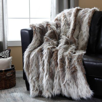 Cuddly Cozy... Faux Fur Throw #blanket