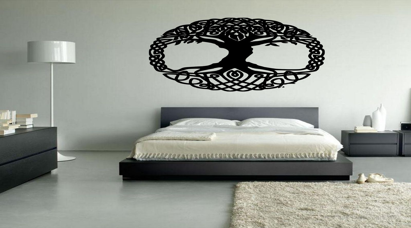 Irish Celtic Pagan Tree of Life Vinyl Wall Art Decal