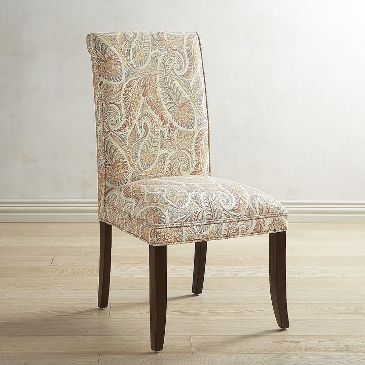 Pier 1 Imports Angela Sunset Paisley Dining Chair