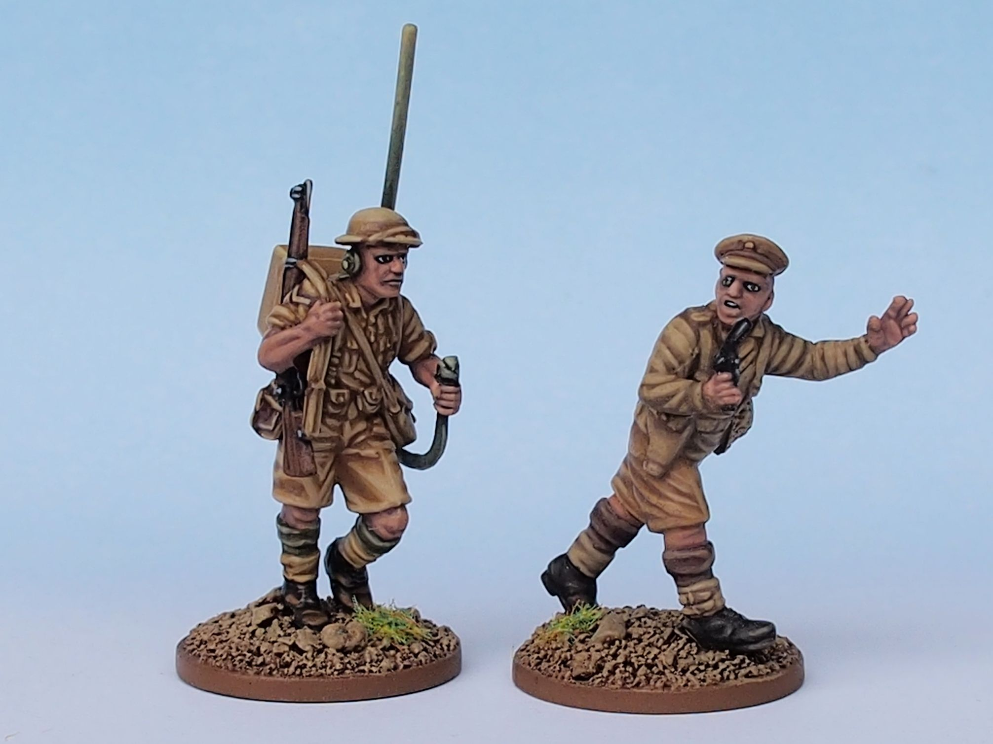 Platoon HQ (Perry Miniatures) | Figures and reference images
