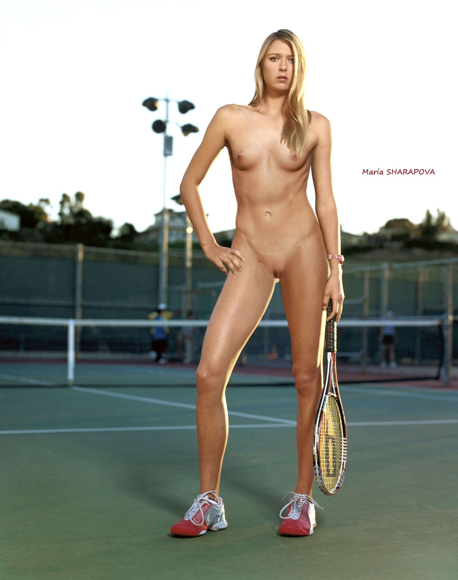 Naked Tennis Star 64