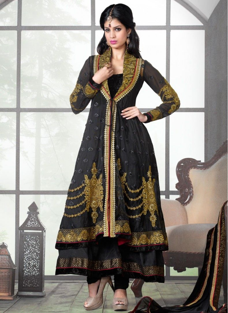 salwar suit with jacket design - Google Search